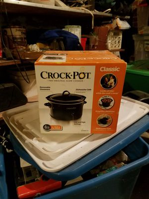 New 4qt crock pot for Sale in Saint Joseph, MO