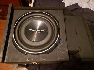 Car or truck 12in speaker box for Sale in Lake Wales, FL