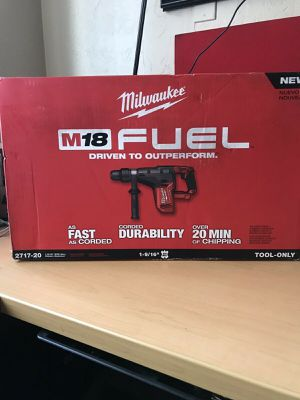 """Milwaukee M18 Fuel Brushless Rotary Hammer *1-9/16"""" SDS-MAX* NEW for Sale in Renton, WA"""