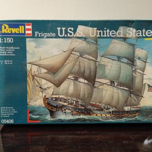 Revell Frigate U.S.S. United States 1/150 scale Model Kit for Sale in Country Lake Estates, NJ