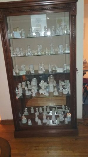 Precious Moments collection and cabinet for Sale in Columbus, OH