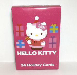 Sanrio Hello Kitty Christmas Cards 24 Ct. Boxed Set for Sale in Waipahu, HI