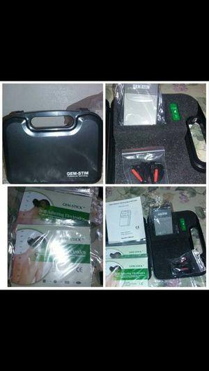GEM-STIM Professional Technology Beauty and Health Transcutaneous Electrical Nerve Stimulator Model GM3A50T New never open for Sale in Victorville, CA