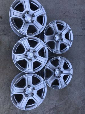 Jeep Wrangler take off wheels (5) for Sale in Upland, CA