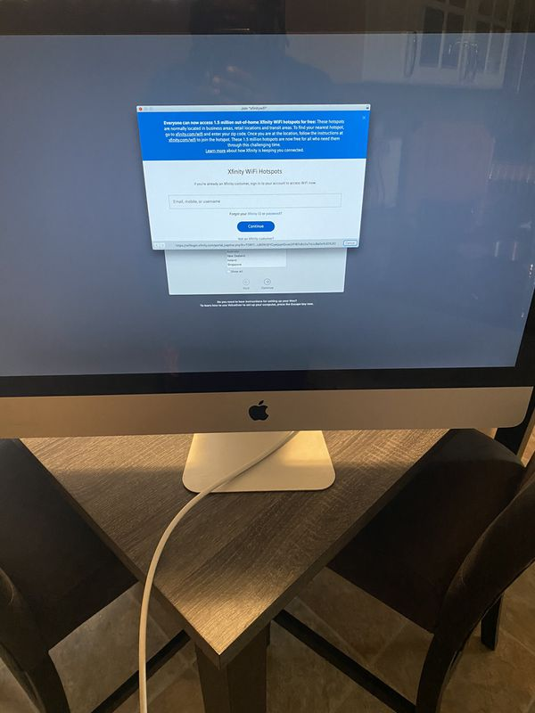 "27""Apple iMac Computer"