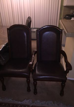 6pc dinning table chairs for Sale in Los Angeles, CA