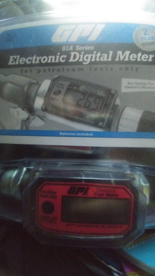 Electronic digital meter