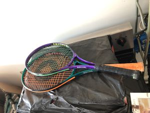 2 Spalding tennis rackets with case L3:4 3/8 practically new,$10 for both for Sale in Phoenix, AZ