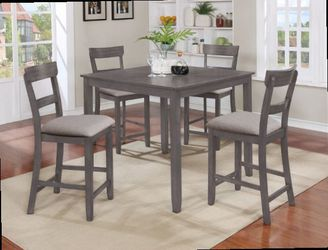5 Pcs counter height dining table. Price firm. New in boxes for Sale in Ontario,  CA