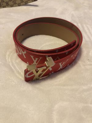Supreme Louis Vuitton belt for Sale in Pittsburgh, PA