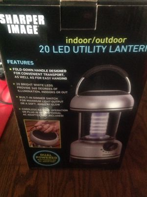 Sharper Image LED lamp for Sale in Davenport, IA