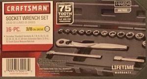 Craftsman socket wrench set 16 pc(new) for Sale in Philadelphia, PA