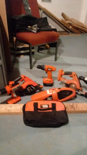 Black and decker misc powertools for Sale in Sioux Falls, SD
