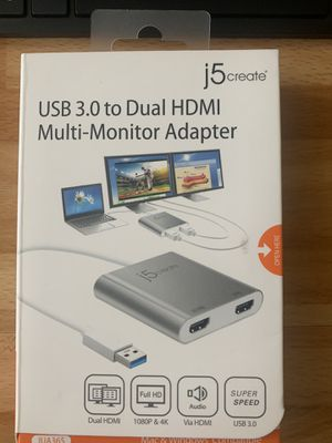 Dual Monitor Adapter for Sale in Santee, CA