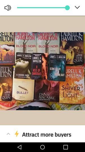 Laurell k. Hamilton books for Sale in Tallassee, AL