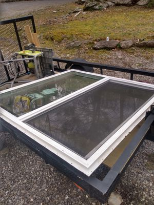 Brand new window 59 and 1/2 by 59 and 1/2 never install $120 for Sale in Gatlinburg, TN
