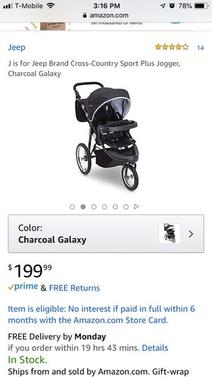 Jeep stroller for Sale in Whitehall, OH