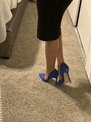 Blue PUMPS high heels 👠 for Sale in Gardena, CA
