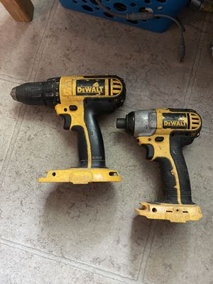 Pair of Dewalt Drills Impact and Regular for Sale in Fresno, CA