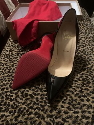 Christian louboutin skate patent pencil heels 👠 for Sale in Pompano Beach, FL