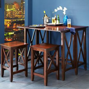 NEW Kenzie Mahogany Breakfast Table Set for Sale in San Jose, CA