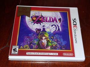 NINTENDO 3DS ZELDA MAJORAS MASK NEW SEALED FOR ONLY 15$$!! for Sale in Escondido, CA