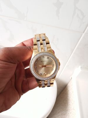 Gold watch stainless steel never turn colors real for Sale in Miami, FL