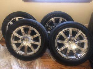 Chrysler 300 chrome rims for Sale in Nolensville, TN