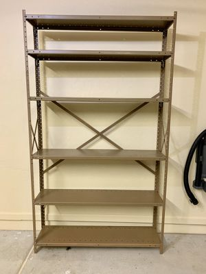 All Metal Shelves Heavy Duty Garage Storage Shelving Unit 7ft x 4ft x 1ft, 6 Adjustable Shelves for Sale in Phoenix, AZ