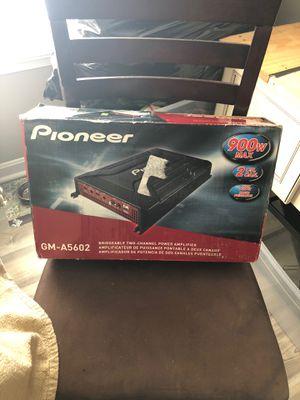 Pioneer Bridgeable Two Channel Amplifier for Sale in Frederick, MD