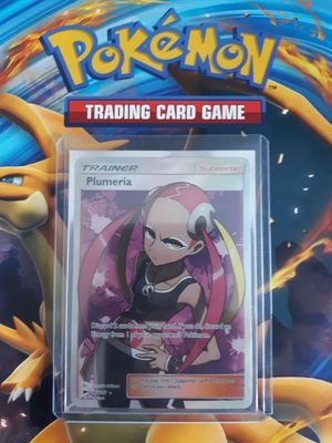 Plumeria pokemon card fullart rare for Sale in Denver, CO