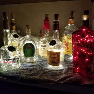 Liquor bottle lights for Sale in Brandon, MS