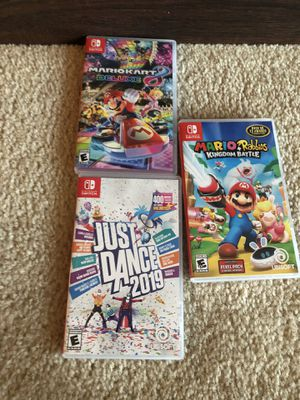 Nintendo switch games for Sale in The Colony, TX