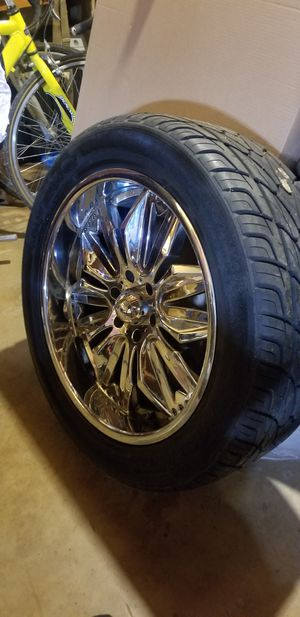 Gladiator by Diablo chrome rims for Sale in College Park, MD