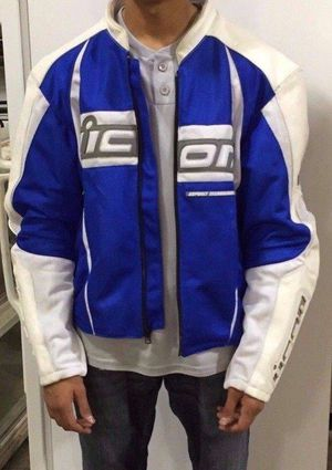 ICON ARC Mesh Jacket. Excellent Condition Motorcycle Jacket for Sale in Leesburg, VA