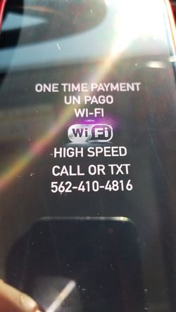 Super high speed. Cable TV also offer Internet and Router for wifi open box in great condition Wi-fi for Sale in Paramount,  CA