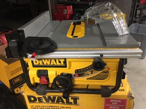 Table saw dewalt for Sale in Bakersfield, CA
