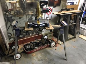 Ryobi shop saw with delta stand for Sale in Sterling, VA