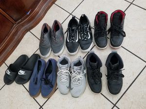 Jordan's,nikes,vans and Levi's all use but in good condition for Sale in Las Vegas, NV