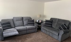NEW Palliser Reclining sofa set, with USB charging ports! for Sale in Holland, PA