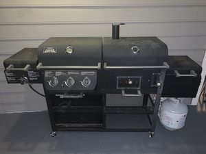 Propane, Charcoal Smoker and Infrared Sear Combo for Sale in Houston, TX