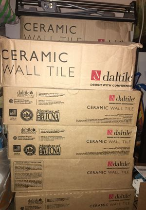 Ceramic Wall tiles 10 cases/boxes for Sale in Hyattsville, MD