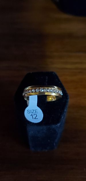 Stainless Steel Wedding Ring for Sale in Modesto, CA
