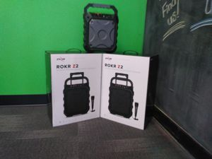 Rokr Zizo Bluetooth speakers and more starting at 39.99!! for Sale in Bristol, VA