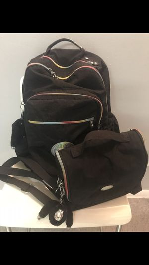 "KIPLING SEOUL GO LARGE 15"" Laptop Backpack and Lunch Bag for Sale in Miami, FL"