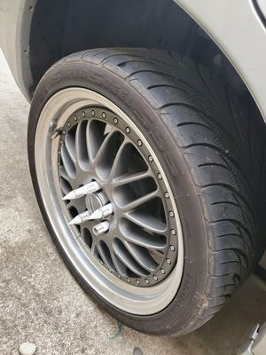 Testing water. Looking to trade for gold limited edition subaru wheels. These are, three pieces rims. for Sale in Seattle, WA