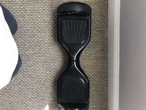 Glossy Black Hoverboard Scratched Up But Perfect Working Condition for Sale in East Hampton, CT
