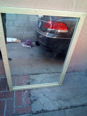 A wall mirror 42 in Long 31 in wide for Sale in Hawaiian Gardens, CA