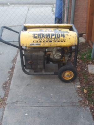 champion generator for Sale in West Valley City, UT
