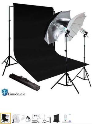 Photo Video Umbrella Continuous Lighting Light Kit Set- Lighting Stand and more for Sale in Ashburn, VA
